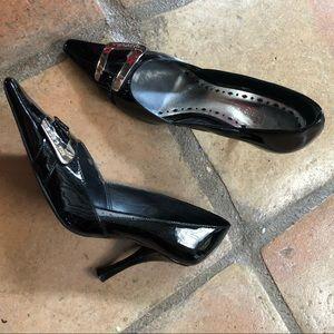 BCBG Girls Black Heels size 6.5